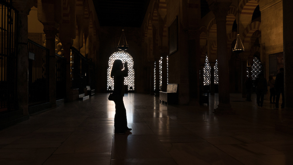 A church that became a mosque before reverting back to being a church.  It charts the evolution of Western and Islamic architecture over a 1000-year trajectory.