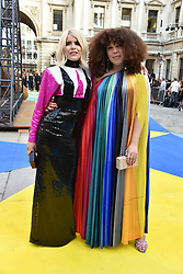 Paloma Faith and Zezi Ifore at the Royal Academy Of Arts Summer Exhibition Preview Party 2018 held at The Royal Academy, Burlington House, Piccadilly, London, England. 06 June 2018.