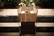 YONKERS, NY : Images from the wake and funeral Mass for Father Andrew J. Apostoli CFR on December, 20-21, 2017 at Saint Casimir Church in Yonkers, New York.