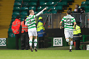 Celtic's Leigh Griffiths celebrates after scoring his side's opener - Celtic v Dundee in the Ladbrokes Scottish Premiership at Celtic Park, Glasgow. Photo: David Young<br /> <br />  - © David Young - www.davidyoungphoto.co.uk - email: davidyoungphoto@gmail.com