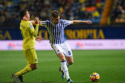 January 27, 2018 - Vila-Real, Castellon, Spain - Pablo Fornals of Villarreal CF and Adam Januzaj of Real Sociedad during the La Liga match between Villarreal CF and Levante Union Deportiva, at Estadio de la Ceramica, on January 26, 2018 in Vila-real, Spain  (Credit Image: © Maria Jose Segovia/NurPhoto via ZUMA Press)