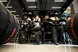 September 1, 2019, Spa-Francorchamps, Belgium: Motorsports: FIA Formula One World Championship 2019, Grand Prix of Belgium, ..Mechanic of Mercedes AMG Petronas Motorsport  (Credit Image: © Hoch Zwei via ZUMA Wire)