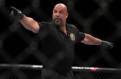 Atlantic City, NJ - June 22, 2012: Referee Dan Miragliotta at UFC on FX 4 at Ovation Hall at Revel Resort & Casino in Atlantic City, New Jersey. (Ed Mulholland for ESPN.com)