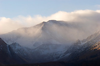 First Winter Storm, Mammoth Lakes, California