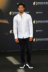 "Monte Carlo, 57th Festival of Television. Photocall ""Empire"" pictured: Jussie Smollet"