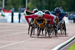 HUG Marcel, CASOLI Julien, 2014 IPC European Athletics Championships, Swansea, Wales, United Kingdom