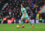 Matteo Guendouzi (29) of Arsenal on the attack during the Premier League match between Bournemouth and Arsenal at the Vitality Stadium, Bournemouth, England on 25 November 2018.