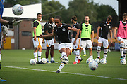 Port Vale loan player Marcus Harness during the Pre-Season Friendly match between Port Vale and Derby County at Vale Park, Burslem, England on 18 July 2017. Photo by John Potts.