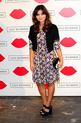 """Lulu Guinness Paint Project.<br /> Jenna Louise Coleman attends the """"Lulu Guinness paint project in collaboration with beautiful crime and their artist Joseph Steele"""" Held at the old sorting office, Oxford street,<br /> London, United Kingdom<br /> Thursday, 11th July 2013<br /> Picture by Chris  Joseph / i-Images"""