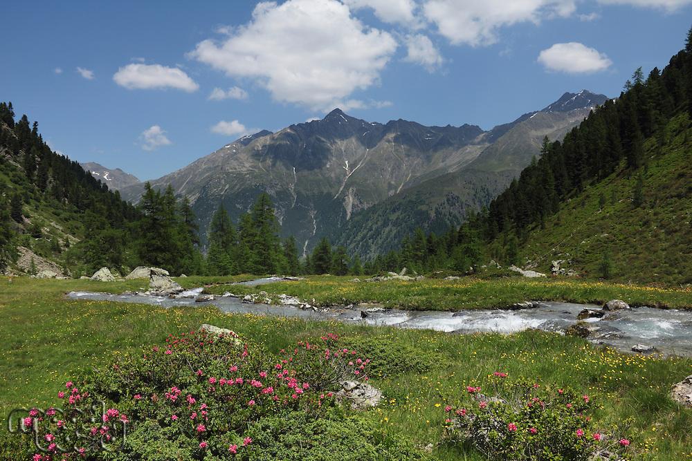 Tiefental Valley  Austria  Tirol  Kaunergrat