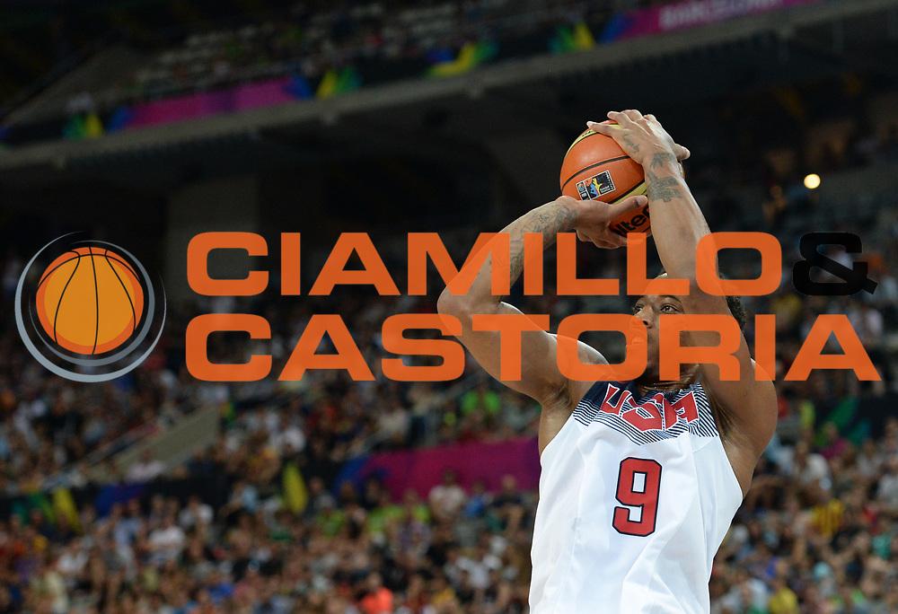 DESCRIZIONE : Barcellona Barcelona FIBA Basketball World Cup Spain 2014 Qualification to 1/4 Finals USA Messico USA Mexico<br /> GIOCATORE : DeMar DEROZAN<br /> CATEGORIA : <br /> SQUADRA : USA<br /> EVENTO : FIBA Basketball World Cup Spain 2014<br /> GARA : USA Messico USA Mexico<br /> DATA : 06/09/2014<br /> SPORT : Pallacanestro <br /> AUTORE : Agenzia Ciamillo-Castoria<br /> Galleria : FIBA Basketball World Cup Spain 2014<br /> Fotonotizia : Barcellona Barcelona FIBA Basketball World Cup Spain 2014 Qualification to 1/4 Finals USA Messico USA Mexico