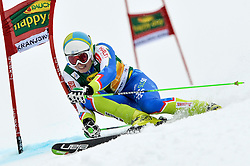 SKUBE Matic of Slovenia during the 1st Run of Men's Giant Slalom - Pokal Vitranc 2013 of FIS Alpine Ski World Cup 2012/2013, on March 9, 2013 in Vitranc, Kranjska Gora, Slovenia.  (Photo By Vid Ponikvar / Sportida.com)