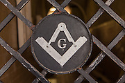 Entry to the Masonic Lodge in Nassau , Bahamas.