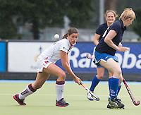 UTRECHT -  Sanne Dufrenne tijdens de finale Veteranen hoofdklasse A dames tussen Kampong en Amsterdam. Kampong wint na shoot out. COPYRIGHT KOEN SUYK