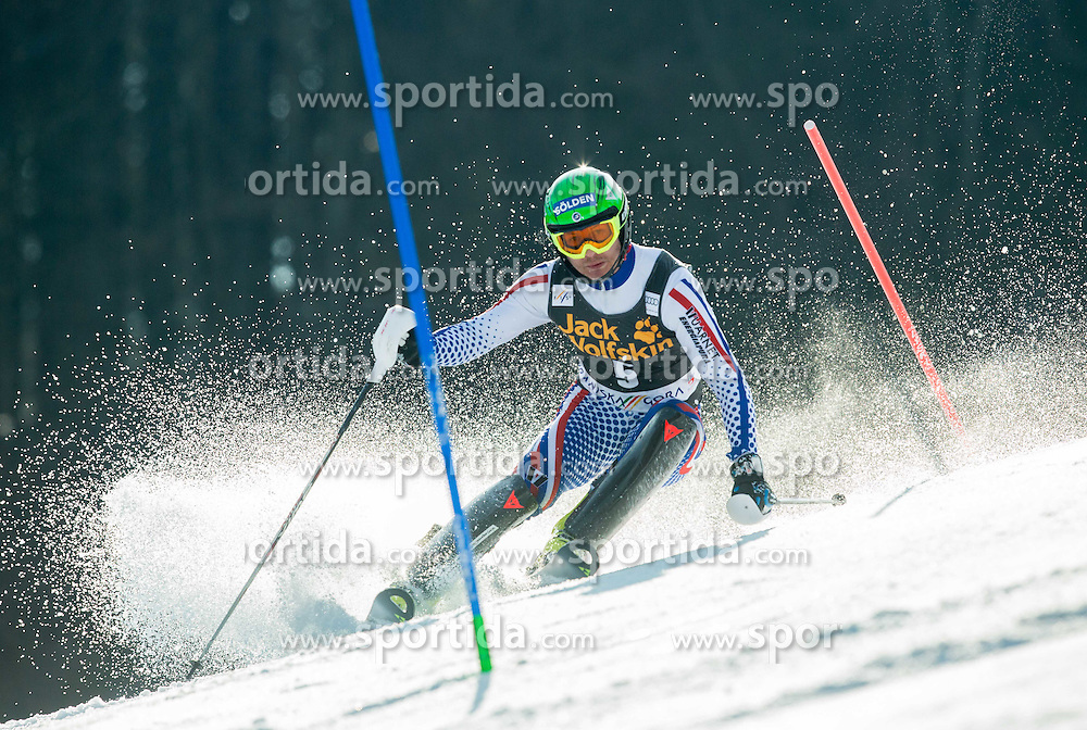 KHOROSHILOV Alexander of Russia competes during 1st Run of Men Slalom race of FIS Alpine Ski World Cup 54th Vitranc Cup 2015, on March 15, 2015 in Kranjska Gora, Slovenia. Photo by Vid Ponikvar / Sportida