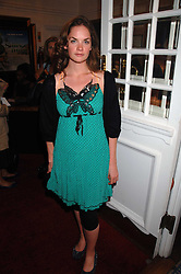 Actress RUTH WILSON at the Grand Classics presentation of Ken Loach's Oscar winning film 'Closely Observed Trains' held at the Electric Cinema, Portobello Road, London W11 on 9th July 2007.<br />