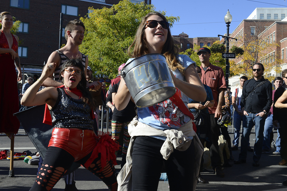 Honk Festival and Cambridge October Fest, Harvard Square, October 12, 2014