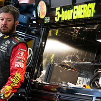June 22, 2018 - Sonoma, California , USA: June 22, 2018 - Sonoma, California , USA: Martin Truex, Jr (78) gets ready to take to the track to practice for the TOYOTA/SAVE MART 350 at Sonoma Raceway in Sonoma, California .