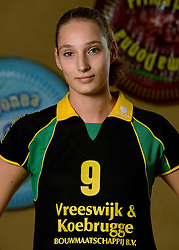 09-10-2013 VOLLEYBAL: PRIMA DONNA KAAS VROUWEN: HUIZEN <br /> 1e divisie B PDK Huizen seizoen 2013-2014 / Maus Smeeds<br /> &copy;2013-FotoHoogendoorn.nl