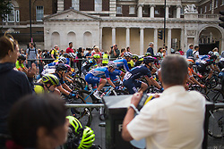 Rozanne Slik (NED) of FDJ Nouvelle Aquitaine Futuroscope Team rides mid-pack during the Prudential RideLondon Classique - a 64.8 km road race, starting and finishing in central London on July 28, 2018, in London, United Kingdom. (Photo by Balint Hamvas/Velofocus.com)