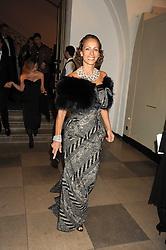 ANDREA DELLAL at Chaos Point - a fashion show from Viienne Westwood's Gold Label Collection in aid of the NSPCC at The Banqueting House, London SW1 on 18th November 2008.