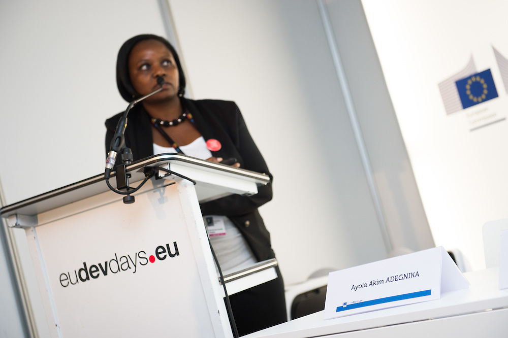 03 June 2015 - Belgium - Brussels - European Development Days - EDD - Health - Combating poverty-related and neglected infectious diseases - Annet Nanvubya<br /> Clinical Trials' Manager, Uganda Virus Research Institute - International AIDS Vaccine Initiative, Uganda&copy; European Union