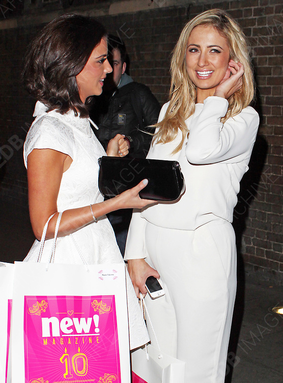 05.MARCH.2013. LONDON<br /> <br /> LUCY MECKLENBURGH AND CHANTELLE HOUGHTON ATTEND THE NEW MAGAZINE 10TH BIRTHDAY PARTY AT GILGAMESH BAR IN CAMDEN.<br /> <br /> BYLINE: EDBIMAGEARCHIVE.CO.UK<br /> <br /> *THIS IMAGE IS STRICTLY FOR UK NEWSPAPERS AND MAGAZINES ONLY*<br /> *FOR WORLD WIDE SALES AND WEB USE PLEASE CONTACT EDBIMAGEARCHIVE - 0208 954 5968*