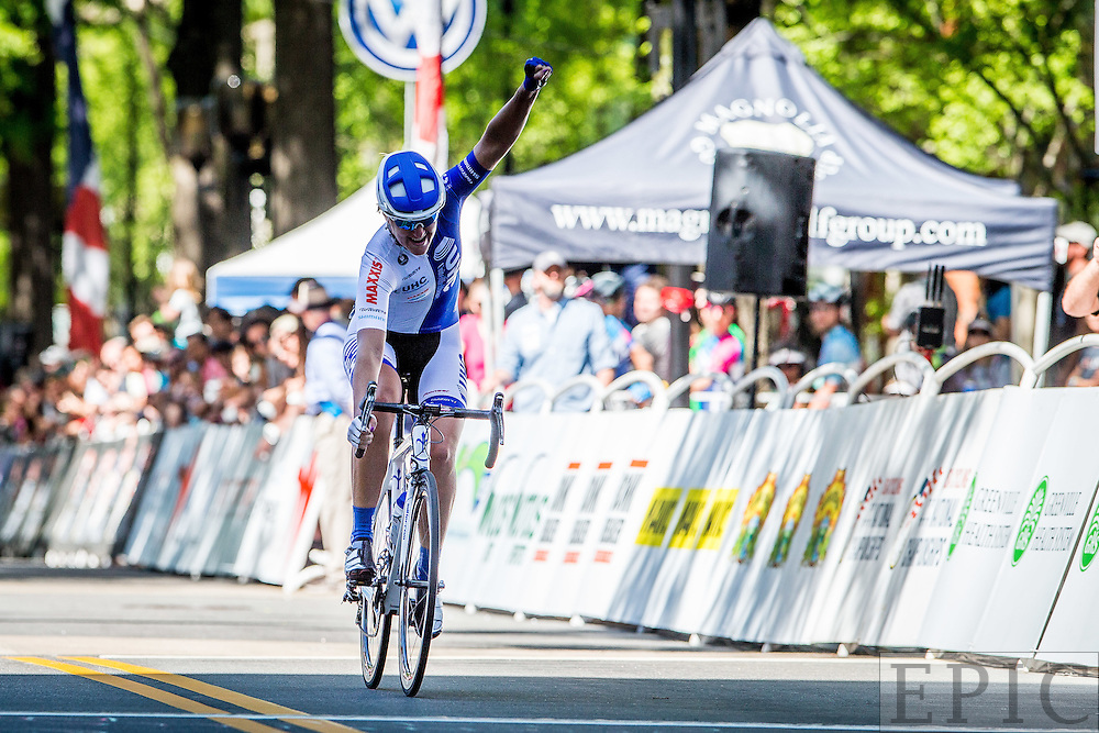 GREENVILLE, SC - APRIL 17:   Criterium National Championships on April 17, 2016 in Greenville, South Carolina. (Photo by Jonathan Devich/Getty Images) *** LOCAL CAPTION ***