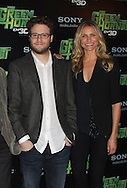 PARIS - DECEMBER 09:  Seth Rogen and Cameron Diaz attend 'The Green Hornet' Photocall at Hotel Royal Monceau Raffle on December 9, 2010 in Paris, France.  (Photo by Tony Barson/WireImage)