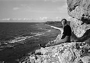 Vid Hoburgen på Gotlands sydspets