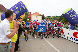 The start during 1st Stage of 25th Tour de Slovenie 2018 cycling race between Lendava and Murska Sobota (159 km), on June 13, 2018 in  Slovenia. Photo by Matic Klansek Velej / Sportida
