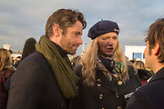 DAVID BLAKELEY; JODIE KIDD, Hennessy Gold Cup, The Racecourse Newbury. 30 November 2013.