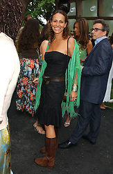 ANDREA DELLAL at the annual Serpentine Gallery Summer Party co-hosted by Jimmy Choo shoes held at the Serpentine Gallery, Kensington Gardens, London on 30th June 2005.<br />