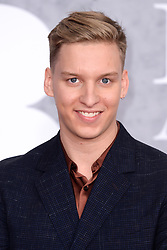 George Ezra attending the Brit Awards 2019 at the O2 Arena, London. Photo credit should read: Doug Peters/EMPICS. EDITORIAL USE ONLY