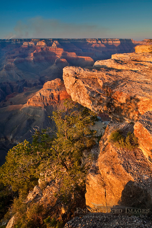 Sunset at Yavapai Point, South Rim, Grand Canyon National Park, Arizona