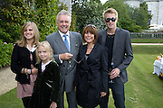 Tiger Lily Taylor; Lola Taylor; Roger Taylor; Sarina Taylor; Rufus Taylor.  The Cartier Style et Luxe Concours lunch at the Goodwood Festival of Speed. July 13, 2008  *** Local Caption *** -DO NOT ARCHIVE-© Copyright Photograph by Dafydd Jones. 248 Clapham Rd. London SW9 0PZ. Tel 0207 820 0771. www.dafjones.com.