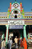 India. Dargah shrine at Nagore, Tamil Nadu