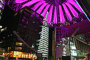 Berlin Sony Center in Potsdamer Platz