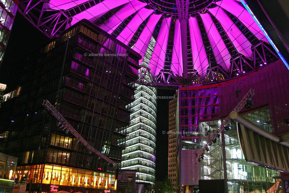 Berlin Sony Center in Potsdamer Platz