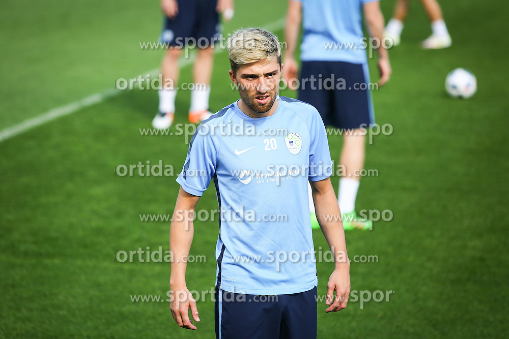 Kevin Kampl during practice session of Slovenian Football Team practice session of Slovenian National Team before game against Sweden, on May 26, 2016 in Football centre Brdo pri Kranju, Slovenia. Photo by Ziga Zupan / Sportida