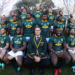 South African (Springbok) team photo