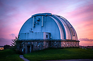 Editorial images taken at Brorfelde Observatorium (Brorfelde Observatory) near Tølløse in Denmark. The observatory houses the biggest telescope in the country, and this assignment was shot for Danmarks Naturfredningsforening