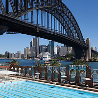 Harbour Bridge from North Sydney Olympic Pool