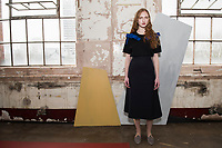 London 18 February 2017, Edeline Lee Autumn Winter presentation at Oxo Tower during London Fashion Week AW17. Canadian-born, London-based EDELINE LEE graduated with a First from Central Saint Martins Womenswear and apprenticed in the studios of Alexander McQueen and John Galliano before working at Zac Posen in New York and as Head Designer for Rodnik in London. An unintentional soft launch led to a flurry of private orders and the birth of her eponymous collection in 2014. The designer has stated that she designs for the &ldquo;Future Lady&rdquo;: her work has been worn by stars like Alicia Vikander, Taylor Swift, Holland Roden and Solange Knowles. She has also received strong support from the women of the art world, who naturally gravitate towards her aesthetically sophisticated signature. <br />  <br /> Edeline Lee has been awarded support by the Centre for Fashion Enterprise and has been two times Finalist for the Samsung Fashion &amp; Design Fund. Her work was recently exhibited by the curators of the Fashion Space Gallery to represent the &ldquo;Future of Fashion Presentation&rdquo;. She is currently nominated for Breakthrough Womenswear Designer of the Year at the WGSN Fashion Futures Awards. <br />  <br /> Spring Summer 2016 was her debut season on the official London Fashion Week schedule of the British Fashion Council. All Edeline Lee pieces are made of the finest French and Italian cloths, by hand in England.