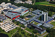 Nederland, Overijssel, Enschede, 30-06-2011; TH Twenthe campus onderdeel Kennispark Twente.Campus Technical University of Twente in Enschede..luchtfoto (toeslag), aerial photo (additional fee required).copyright foto/photo Siebe Swart