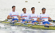 Reading, Great Britain,  GBR M4X. Tom SOLESBURY, Stephen ROWBOTHAM, Sam TOWNSEND and Bill LUCAS.  2011 GBRowing World Rowing Championship, Team Announcement.  GB Rowing  Caversham Training Centre.  Tuesday  19/07/2011  [Mandatory Credit. Peter Spurrier/Intersport Images]