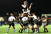 Edinburgh's lineout was solid during the Guinness Pro 14 2017_18 match between Edinburgh Rugby and Zebre at Myreside Stadium, Edinburgh, Scotland on 6 October 2017. Photo by Kevin Murray.