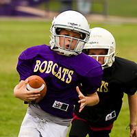 09-16-14 Mighty Mite 3rd & 4th Purple Bobcats vs. Black Bobcats