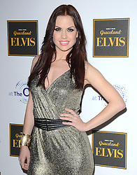 Joanne Clifton attends Elvis At The O2 Gala Night at The O2, Peninsula Square, London on 15th December 2014