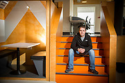 Iain Keaney, from Sligo Start-ups, at The Building Block in Sligo.<br /> Photo: James Connolly<br /> 26JUL17